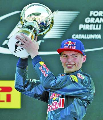 Verstappen gana el GP de España