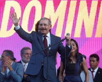 Se afianza el triunfo del presidente dominicano en las elecciones 2016