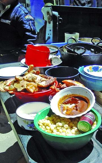 Intendencia se incauta alimentos recalentados