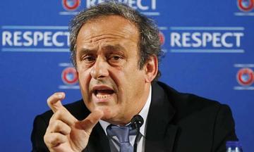 UEFA llama a elecciones para sustituir a Platini