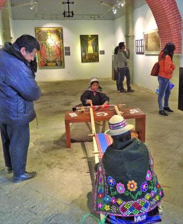 Inicia exposición sobre las líneas del arte en el tiempo