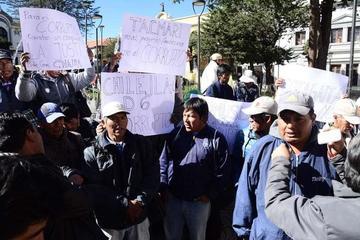 Cotagaiteños exigen justicia y protestan por dilación del proceso judicial