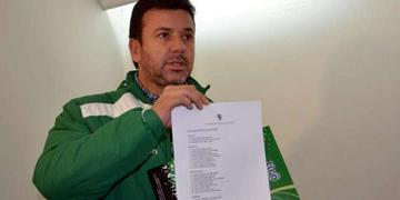 Baldivieso dio la lista de la Verde