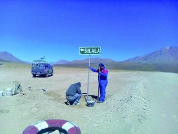 Gobernación potosina consolida señalización en camino al Silala