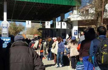Villazón se declara en emergencia debido a la tarjeta vecinal fronteriza