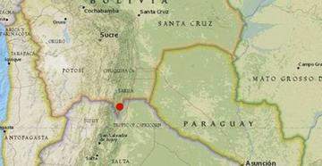 Sismo de 5,5 se registró en el Departamento de Tarija