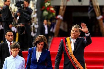 Correa verá la crisis por el sismo  en el último año de su gobierno
