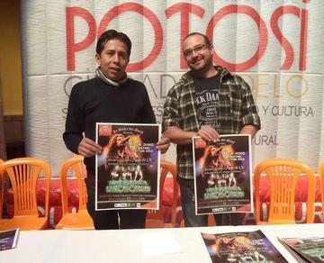 Exvocalista de Mago de Oz cantará en Potosí en junio