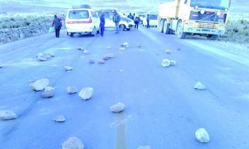 Suspendieron el cierre de la carretera Potosí Tarija
