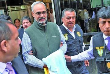 Tribunal decidirá si extradita a Burga