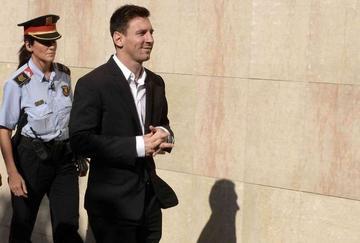 Messi viaja para declarar ante Hacienda