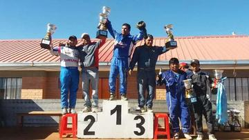 Israel Sandoval sube al podio en La Paz en la categoría R2B