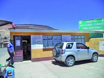 Sedes programa visitas a los hospitales de segundo nivel de la ciudad
