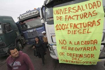 El transporte pesado define hoy si va al diálogo con el Gobierno