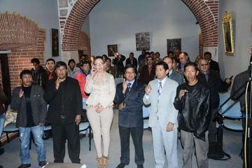 Posesionan a la nueva directiva del Círculo de Periodistas Deportivos de Potosí