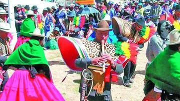 Promocionan el festival de Música y Danza Autóctona de Compi Tauca