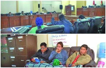 Asamblea Departamental conforma comisiones pese a reclamo opositor