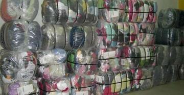 La Aduana se incauta más de 100 toneladas de ropa usada en Bolivia