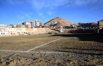 AFP necesita Bs 600 mil para cambiar el césped del estadio