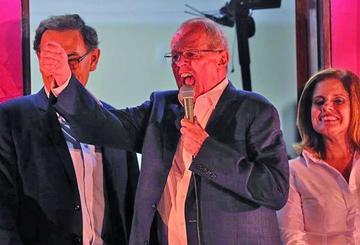 Kuczynski se encamina hacia un triunfo en los comicios en Perú