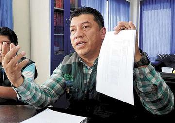 Aramayo iniciará proceso contra León por Fondioc