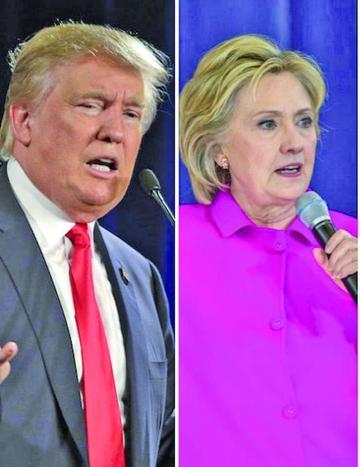 Hilary Clinton y Donald Trump abren la pelea por Casa Blanca