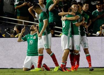 México logra su pase a cuartos de final de la Copa