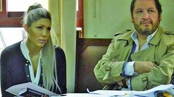 """León dice que el abogado Zuleta """"ha sido el amante"""" de Gabriela Zapata"""