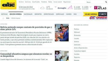 En Paraguay dicen que YPFB fue a ese país para imponer precio de gas