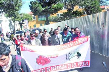 Prensa local declara alerta en defensa de la Ley de Imprenta