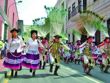 La danza Huaylía ya es patrimonio