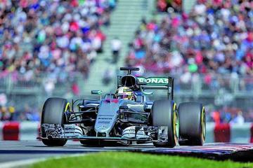 Hamilton es el más rápido en el GP de Canadá