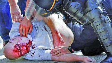 Enfrentamiento deja una veintena de heridos