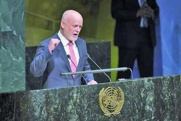 Peter Thompson es elegido como el nuevo presidente de la ONU