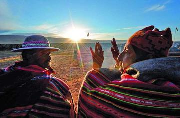 La Paz tiene 22 sitios para celebrar el Willka Kuti
