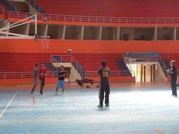 Calero está listo para recibir mañana al equipo de CAN, de Oruro