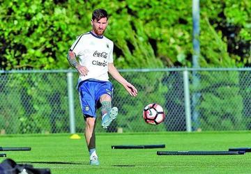 Argentina contará con Messi para jugar con Venezuela