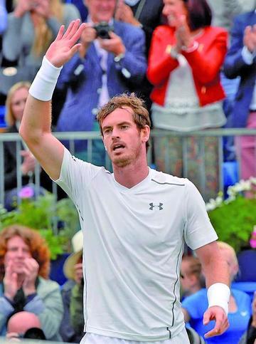 Murray derrota al croata Marin Cilic