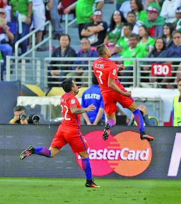 Chile golea 7-0 a México y pasa a semifinales