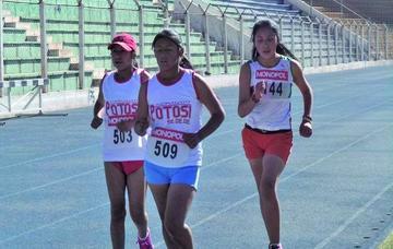 Potosí logra oro en el nacional de atletismo sub 14