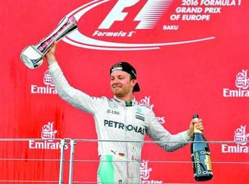 Rosberg refuerza su liderato tras ganar el GP de Europa