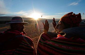 Reciben el Año Nuevo Andino Amazónico en más de 200 sitios