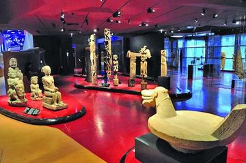 El Museo Branly celebra su  aniversario y realza a Chirac