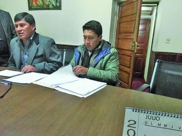 Gobernador denuncia caso de prevaricato en Potosí