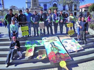 Grupo de La Merced lanza mensajes  para evitar daño al medioambiente