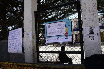 Los padres de escuela San Clemente A se movilizan