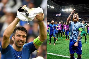 Italia pone fin al ciclo de España; Islandia, sensación en Francia
