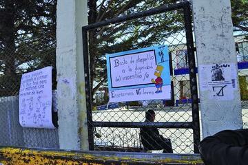 Atienden el conflicto en la escuela San Clemente