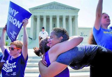 La justicia de EE.UU. ratifica el derecho de las mujeres a abortar