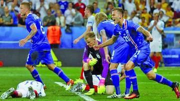 Islandia derrota a una selección inglesa que acaba desquiciada